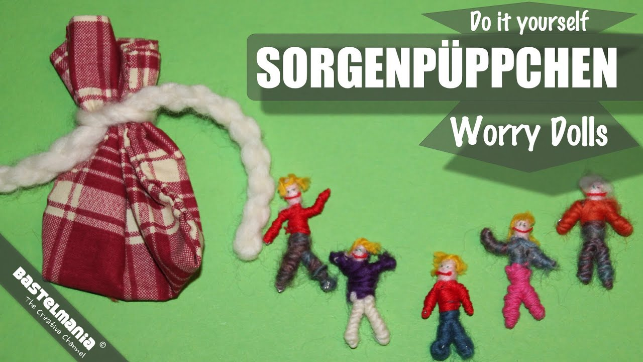 sorgenp ppchen worry dolls sorgenpuppen selber machen youtube. Black Bedroom Furniture Sets. Home Design Ideas