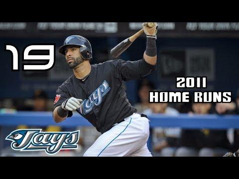José Bautista | 2011 Home Runs ᴴᴰ