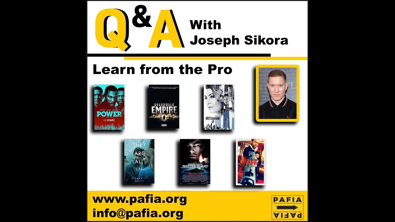 Masterclass with Joseph Sikora