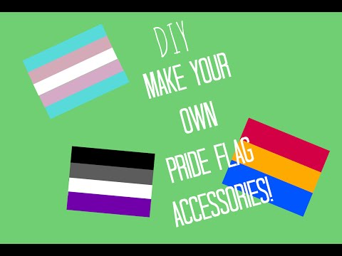 DIY Pride Flags Projects!! Make Necklaces, Pins, Magnets, and More!