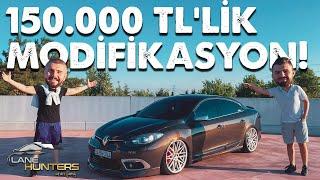 150.000 TLye Renault Fluence Modifiye Etmek  Lane Hunters