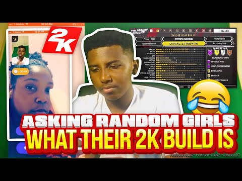 ASKING RANDOM GIRLS WHAT THEIR 2K BUILD IS😂🔥 THE FUNNIEST REACTIONS ON MONKEY APP
