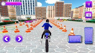 Real Bike Driver Parking - bike parking game - Gameplay Android games