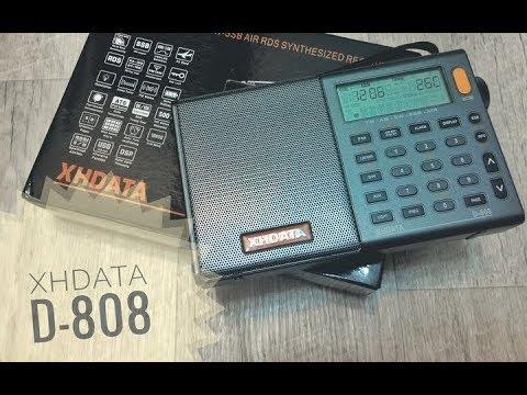 Приемник XHDATA D-808