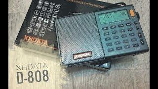 Приймач XHDATA D-808