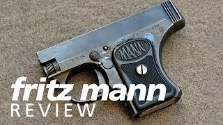 Review: Fritz Mann 25acp pocket pistol - Yes, it