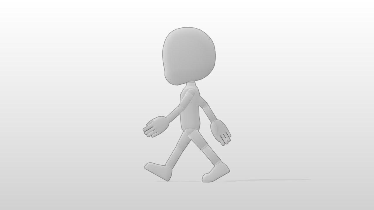 アニメーション 歩く