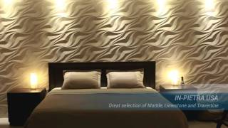 In-Pietra USA - Amazing 3D Wall Panels