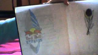 Red Bull Stratos logo drawing