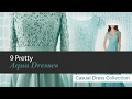 9 Pretty Aqua Dresses Mother of The Bride Dress Collection
