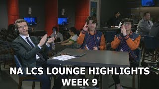 NA LCS Lounge highlights week 9 Huni and Dardoch w/Jatt
