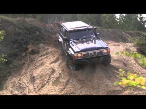 Nissan Patrol Y60 4.2TD 2.8TD off-road