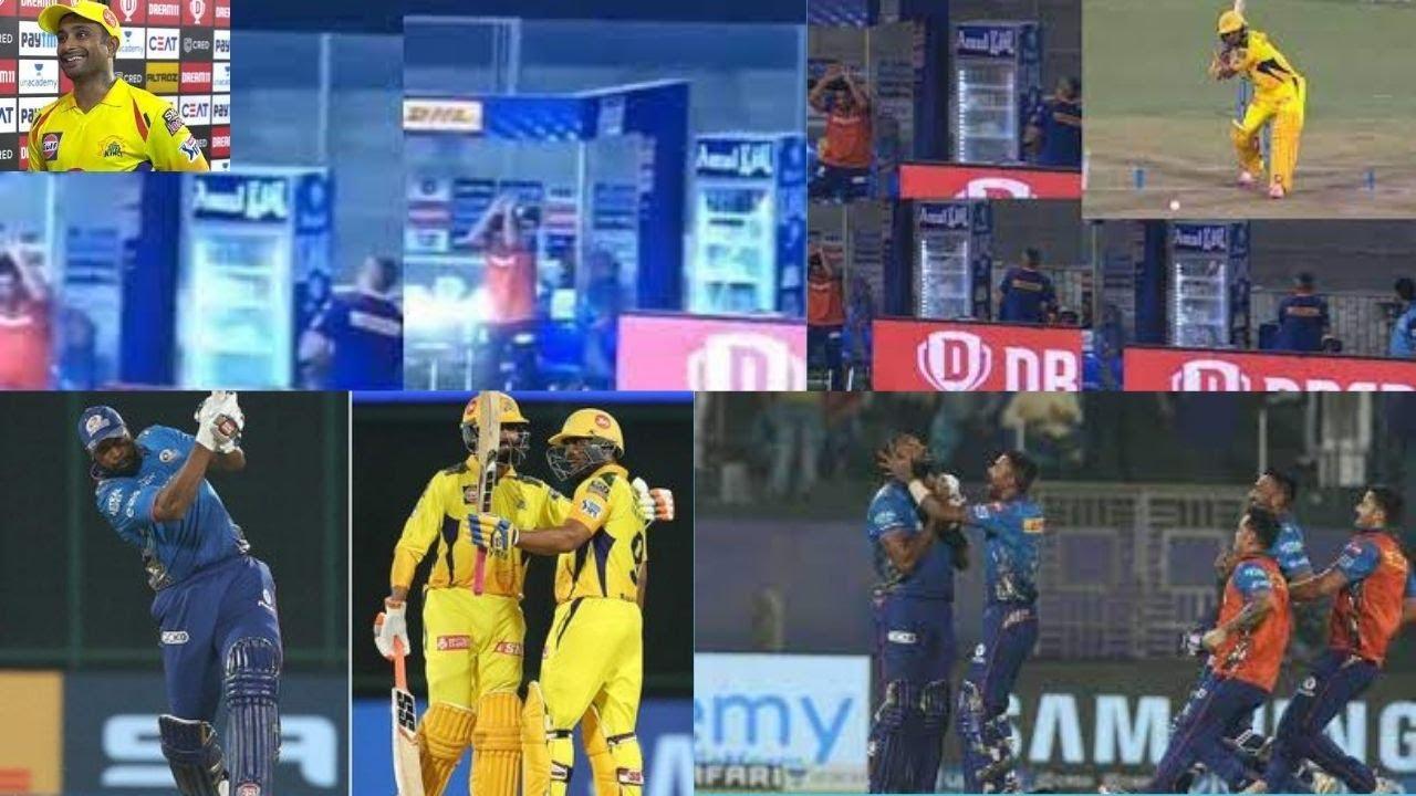 MI beat CSK on last ball, register their highest successful run IPL history
