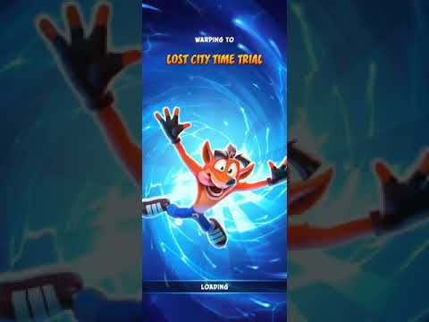 [LJ] LOST CITY RELIC TIME TRIAL - 00:32:87 (WR) - CRASH ON THE RUN