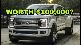 $100,000 Ford Limited or Platinum/King RANCH trim?