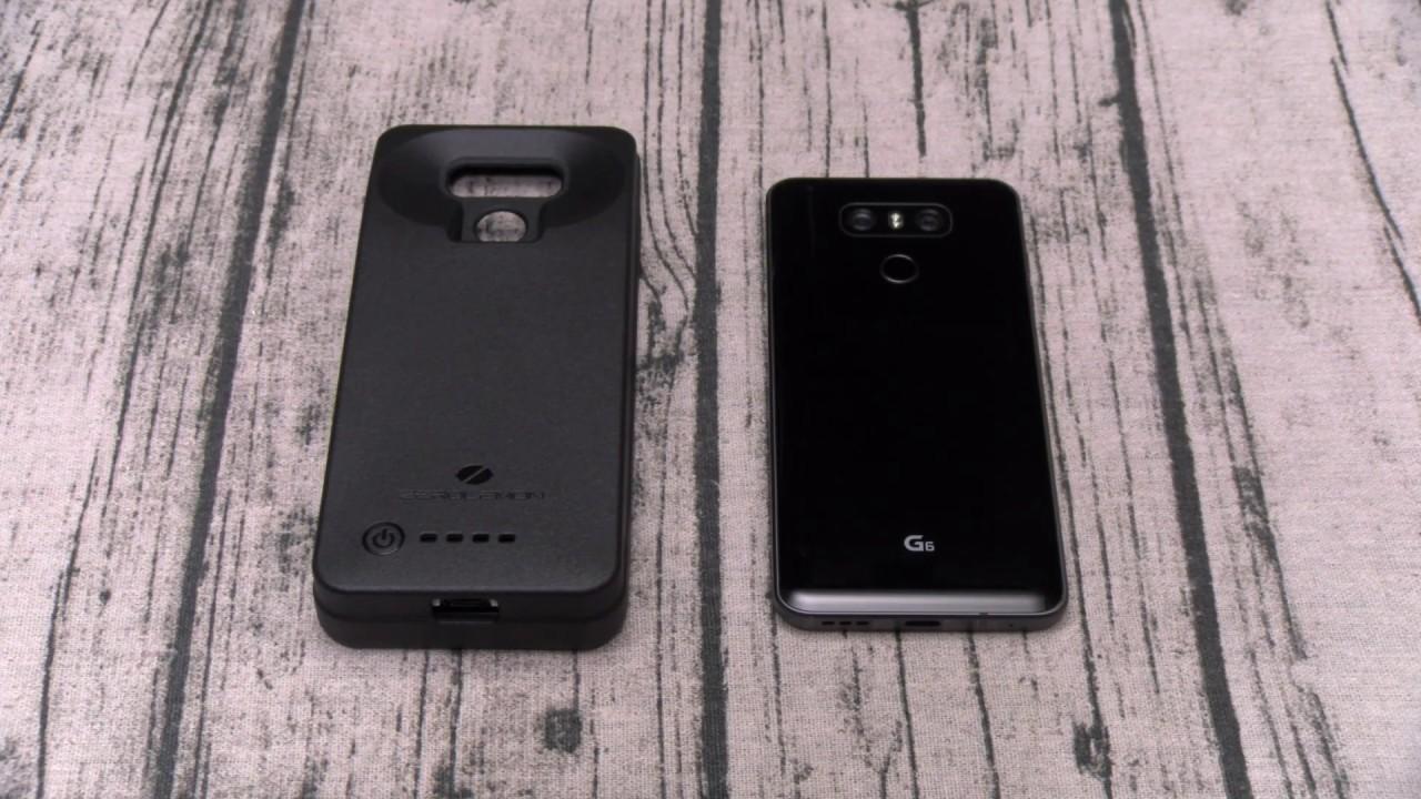 the latest 0f067 7f237 LG G6 8000mAh Battery Charging Case By Zerolemon