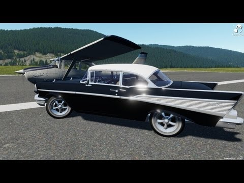 Outerra - Going to the Airport in the 57' Chevy Belair