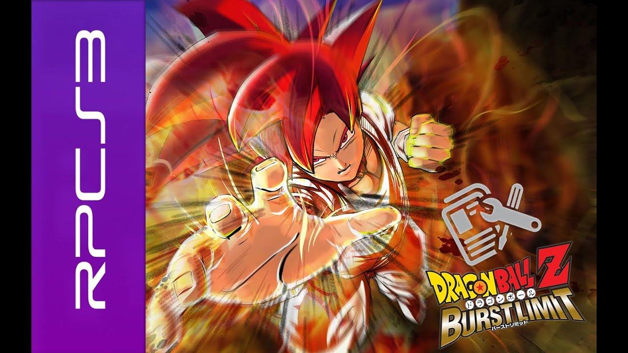 RPCS3 - Dragon Ball Z - Burst Limit / audio FIX (Perfomance) - YouTube