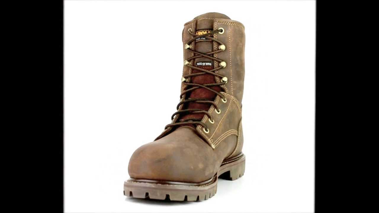 c02b75a61e1 Men's Carolina CA9528 Composite Toe Waterproof & Insulated Work Boot @  Steel-Toe-Shoes.com