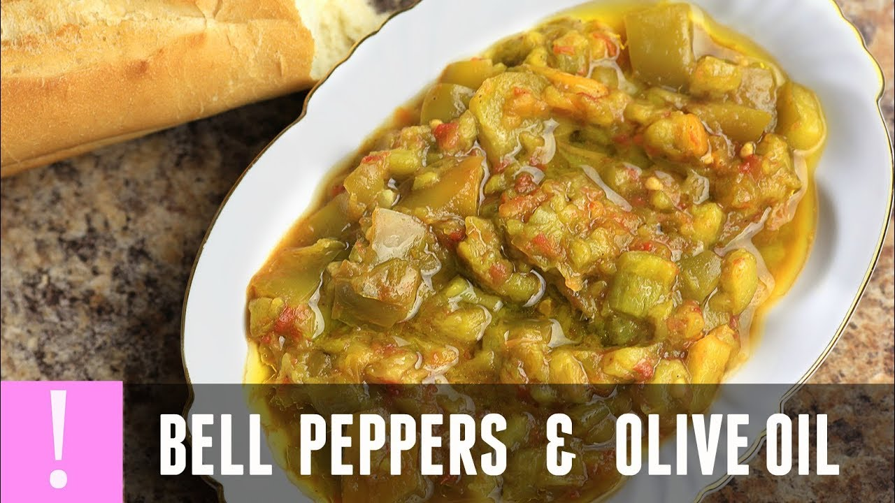 easy bell pepper recipe algerian cuisine healthy vegetarian easy bell pepper recipe algerian cuisine healthy vegetarian recipe shleta with olive oil forumfinder Choice Image