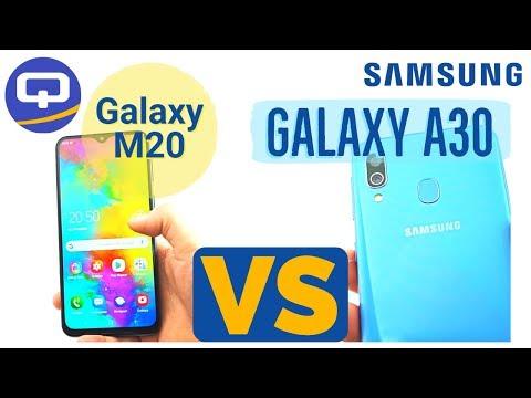 Сравнение Samsung Galaxy A30 и Samsung Galaxy M20. Чем отличаются А и M серии./ QUKE.RU /