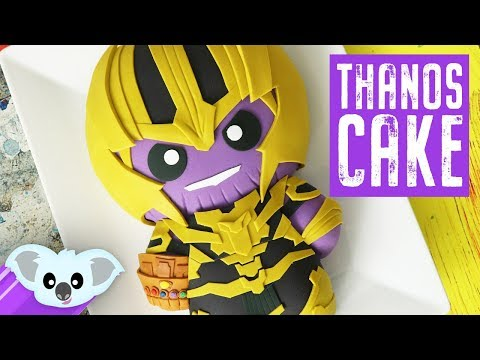 AVENGERS Thanos Cake | Infinity War| Koalipops How To