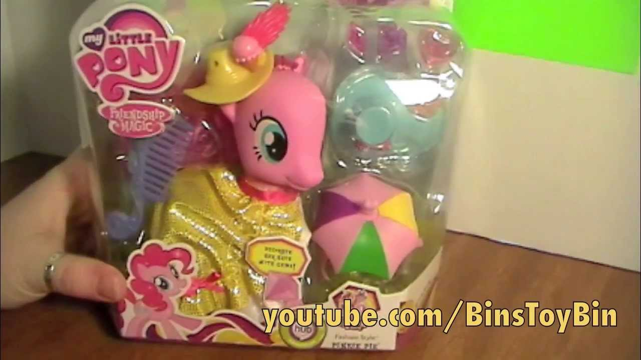 My Little Pony Fashion Style Pinkie Pie Crystal Empire