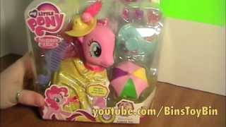 My Little Pony Fashion Style PINKIE PIE Crystal Empire Review! by Bin's Toy Bin