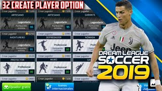 How to Create Unlimited Player in Dream League Soccer
