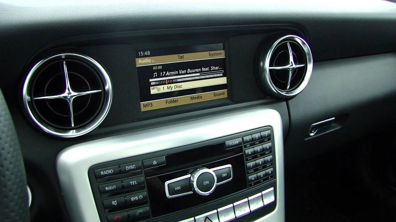 New Mercedes Benz Slk R172 Soundsystem Amp Interior