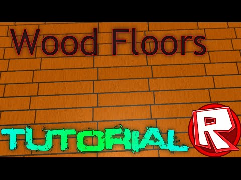 ROBLOX Building Tutorial: How to Make Wood Floors (Best 2015 Commentary)