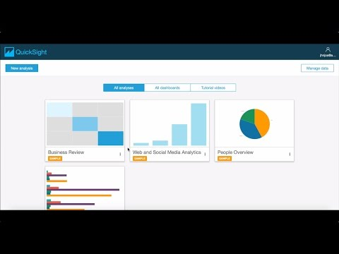 Creating Your First Visual with Amazon Quicksight
