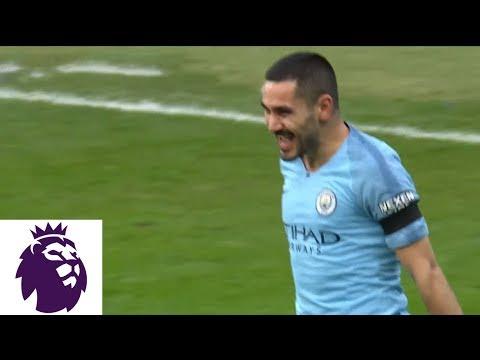 Ilkay Gundogan scores Man City's fourth goal for Man City v. Chelsea   Premier League   NBC Sports