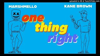 Marshmello Kane Brown One Thing Right Clean Bass Boost.mp3