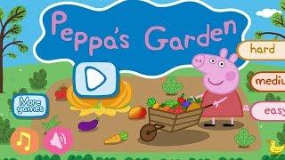 Peppa Pig Fruits & Veg Garden | Full Game play | iPad app demo for kids - Peppa Pig Games