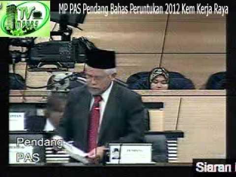 MP PAS Pendang Bahas Peruntukan 2012 Kementerian Kerja Raya