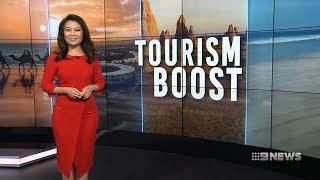 Tourism Boost | 9 News Perth