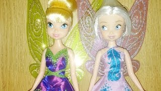 Disney Fairies - The Pirate Fairy Tink and Periwinkle Dolls Toy Review 035