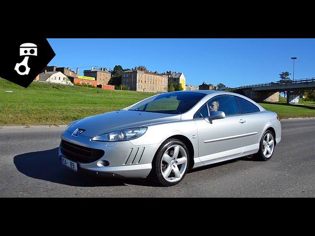 Peugeot 407 Coupe 2.7 HDi Тест-драйв; zhmuraTV