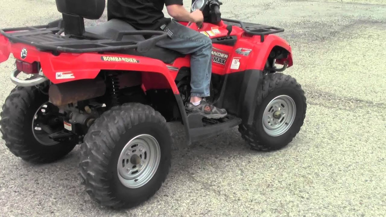 quad can am 400