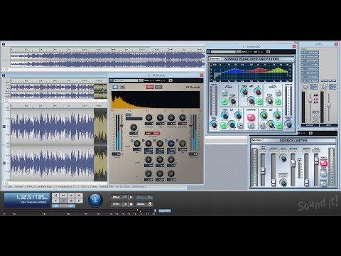 Sound it! 8 Pro | High Resolution Audio Mastering & Editing Software