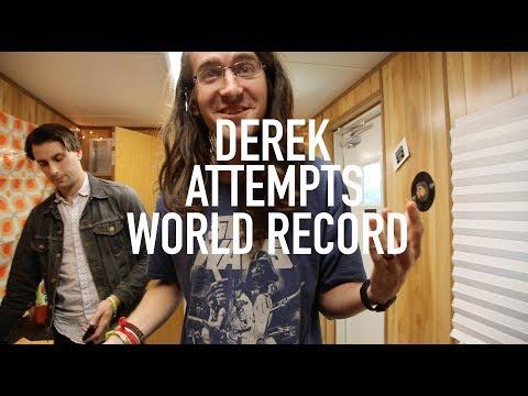 DEREK ATTEMPTS TO BREAK WORLD RECORD!