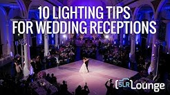 10 Lighting Tips For Wedding Receptions