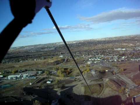 Calgary Skyline Olympic park!
