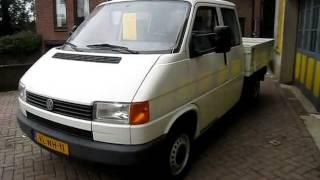Volkswagen Transporter pick up te koop bij van Burik bedrijfswagens