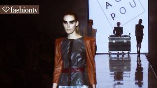 Army-Inspired Sex Appeal: Aga Pou Spring 2012 FashionPhilosophy Fashion Week Poland | FashionTV FTV
