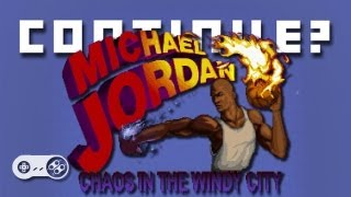 Michael Jordan: Chaos In The Windy City (SNES) - Continue?