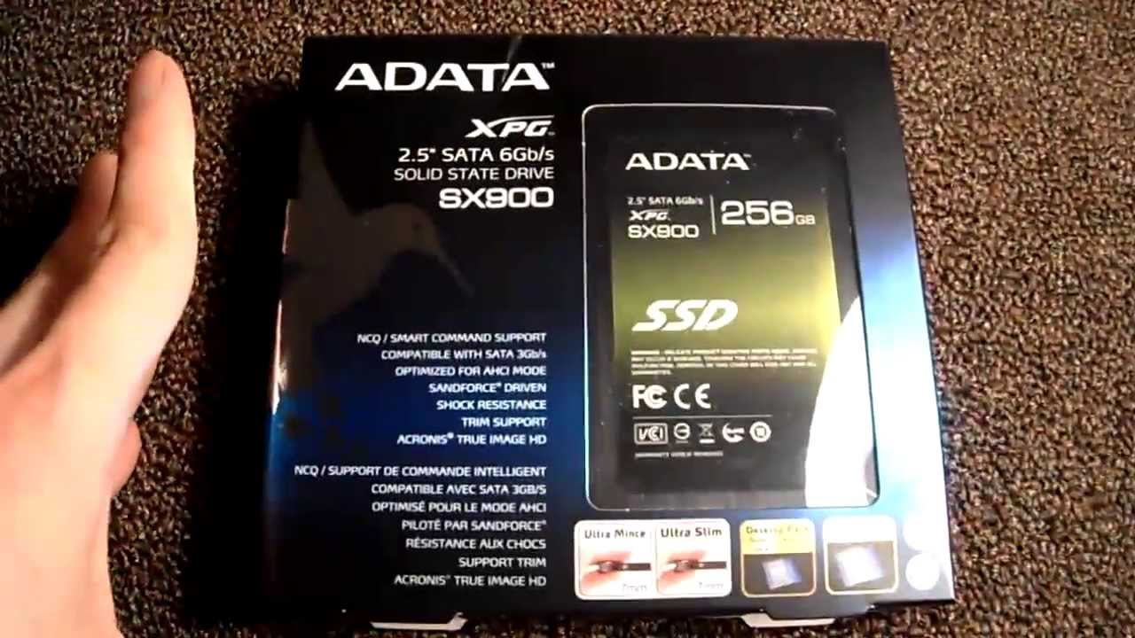 ADATA SX900 SSD Drivers for Windows