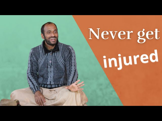 How to avoid injuries in practice? Live satsang Vijay Gopala on May 5, 2019