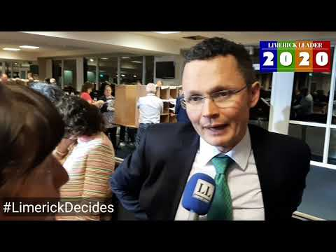 Limerick Decides: Patrick O' Donovan Delighted To Retain His Seat In Limerick County Constituency
